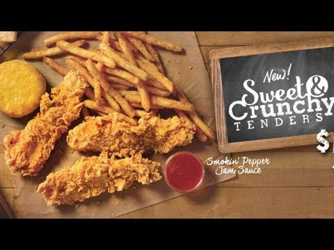 Popeyes Sweet & Crunchy Tenders Review - Wreckless Eating