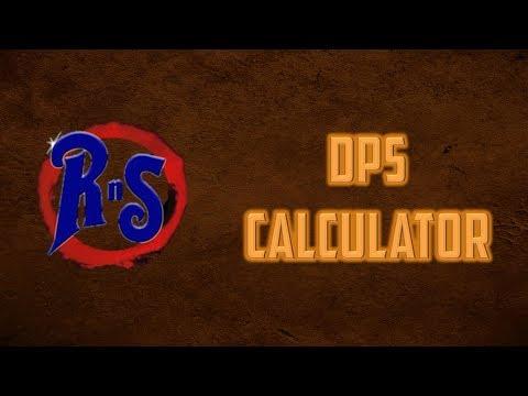 DPS Calculator - Excel Spreadsheet (Oldschool Runescape)