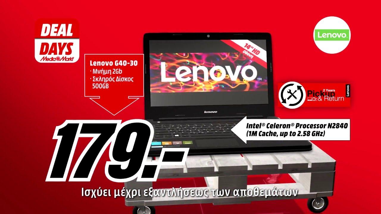 Deal Days Lenovo G40-30 Laptop