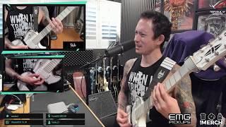 Matt Heafy (Trivium) - Guitar Clinic 28.11.2018