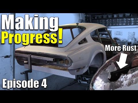 Project Triumph GT6 - Episode 4 - Classic Car Restomod - Fanatik Builds