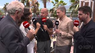 Legends of Tomorrow  Wentworth Miller, Dominic Purcell, Victor Garber, Ciara Renee Interview   Comic