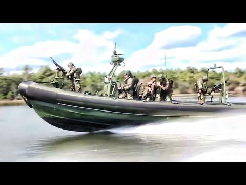 Royal Dutch Marines • Fast Boat Raid Training