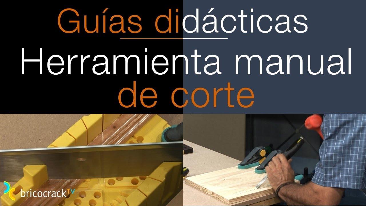 Cortar madera con herramientas manuales bricocrack youtube - Herramientas para cortar madera ...