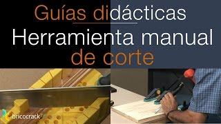Cortar madera con herramientas manuales (Bricocrack)