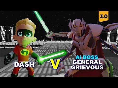 Disney Infinity 3.0 Dash V Ai Boss General Grievous 'Extreme'