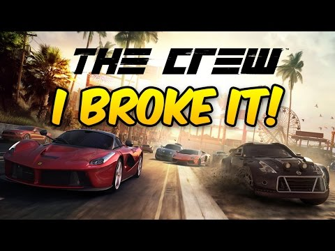 THE CREW - I BROKE THE FREE GAME
