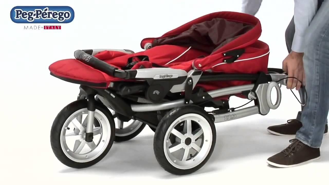 Прогулочная трехколесная коляска BabyHit Voyage Air - YouTube