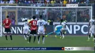 ملخص مباراة مصر1-6 غانا