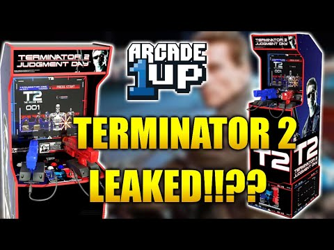 Arcade1Up Terminator 2 Leaked!!? Let's Discuss the Possibilities!! from Kongs-R-Us