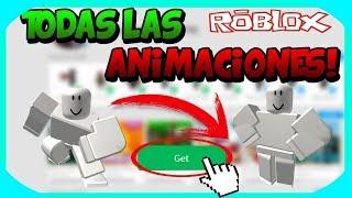 como tener las animaciones que quieras  en roblox gratis