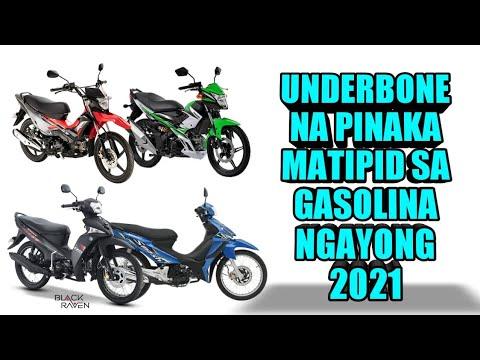Top 10 Underbone Motorcycles na Matipid sa Gasolina ngayong 2021!