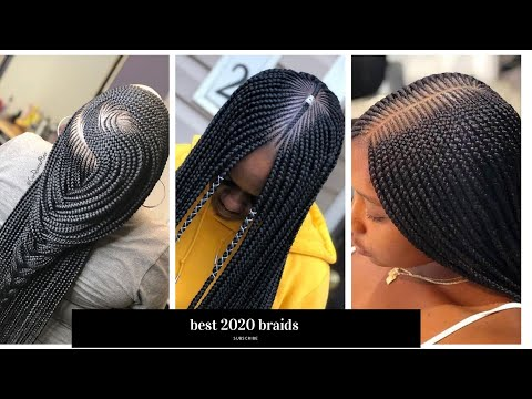 💖🔥🔥🔥2020-amazing-cornrows-braided-hairstyles,-that-will-blow-your-mind!|-protective-braids