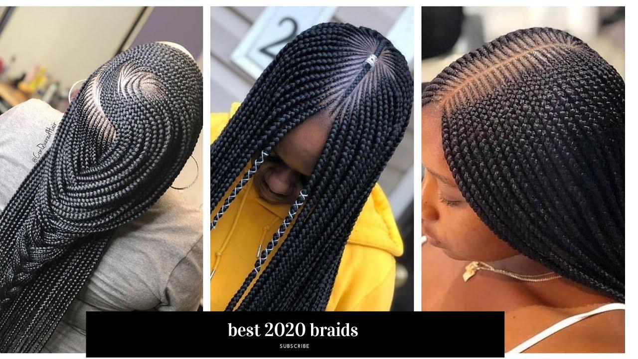 2020 amazing cornrows braided hairstyles