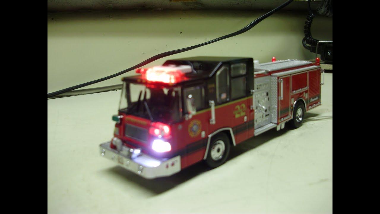 Custom 1 64 Scale Code 3 Pearce Quantum Fire Engine W