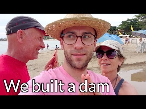 Brazil Holiday 2016/17 - Beachtimes and dam-building in Buzios