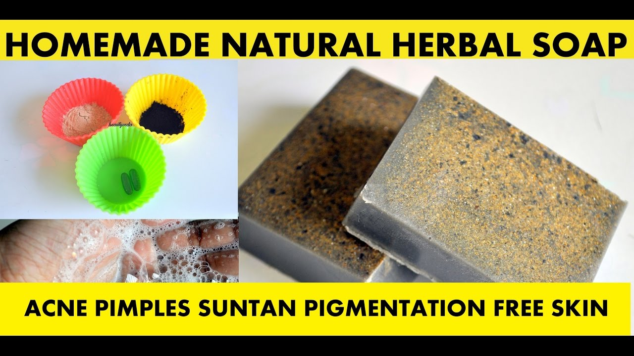 How to make HOMEMADE HERBAL SOAP for