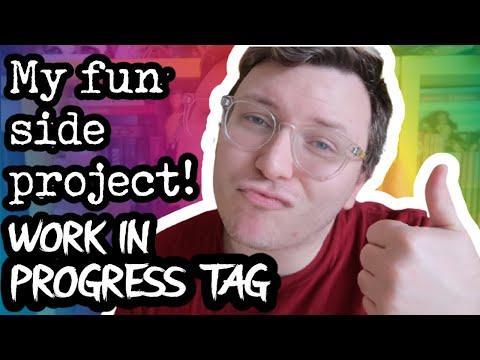 MY FUN SIDE PROJECT (Adult Romance Book?) || Work In Progress Tag [CC]