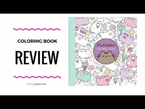 - Pusheen Coloring Book Review - Claire Belton - YouTube