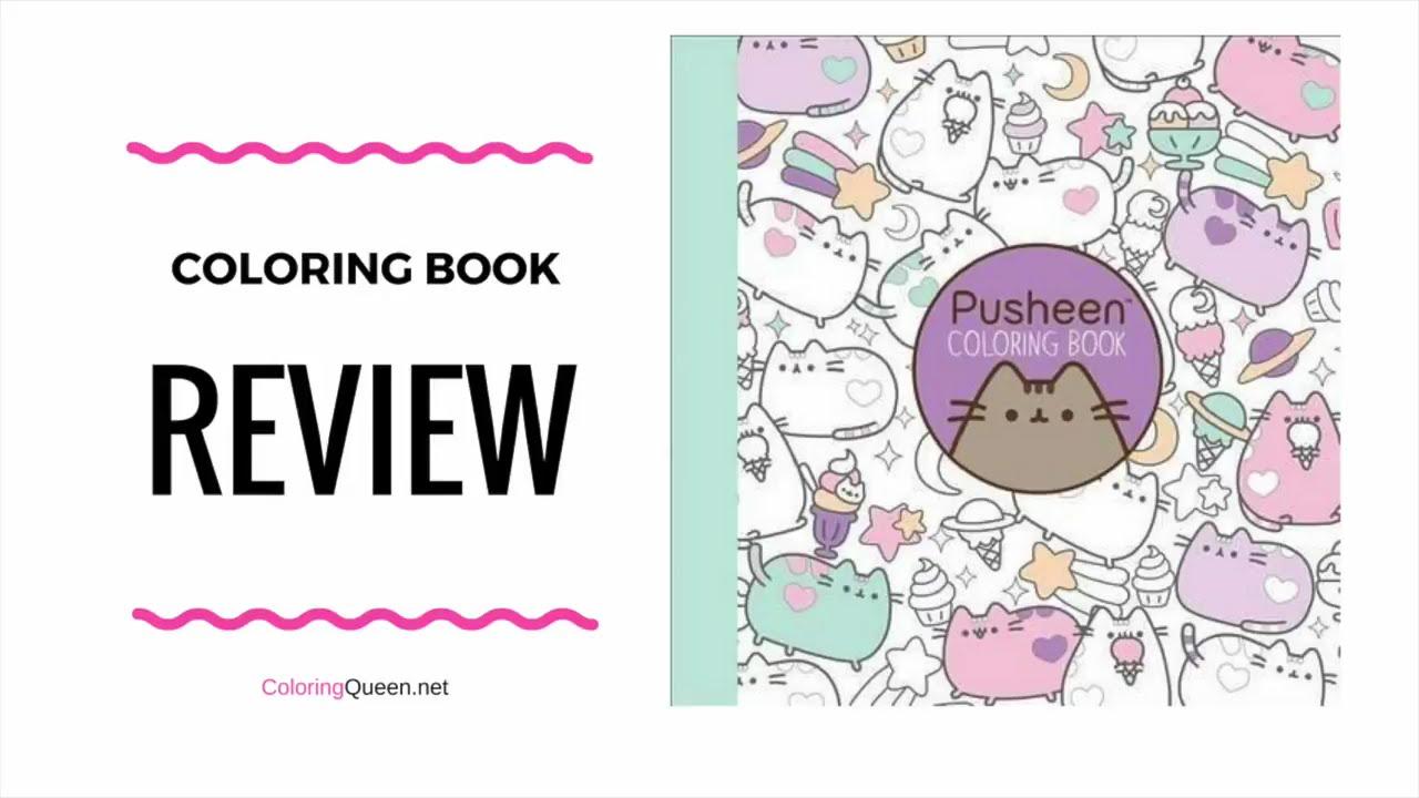 Pusheen Coloring Book Review