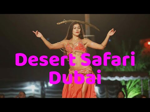 Desert Safari Dubai | Drone View |Belly Dance | BBQ Dinner |Dune Bashing|Ajit Samanta|4K
