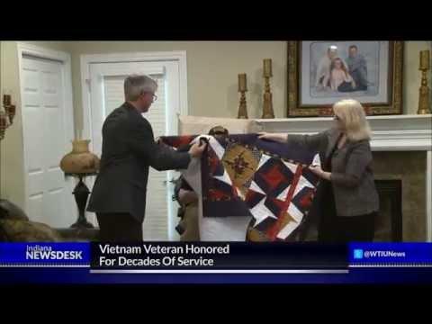 Vietnam Veteran Honored For Years Of Service