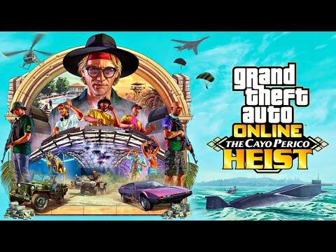 NEW CAYO PERICO HEIST UPDATE!! (GTA 5 Online)
