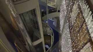 """Dan-Elevator"" (mod. by: Liftcom) Hydraulic Elevators @ Cruiseferry M/S Viking Cinderella"