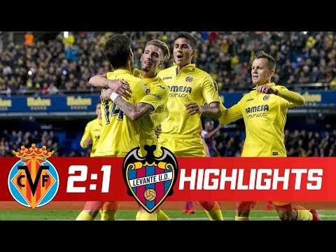Villarreal vs Levante 2-1  Goals & Highlights - LaLiga 20/01/2018 HD