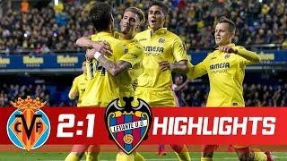 بالفيديو - العميل تشيرشيف ينصر فياريال ويخطف المركز الرابع من ريال مدريد