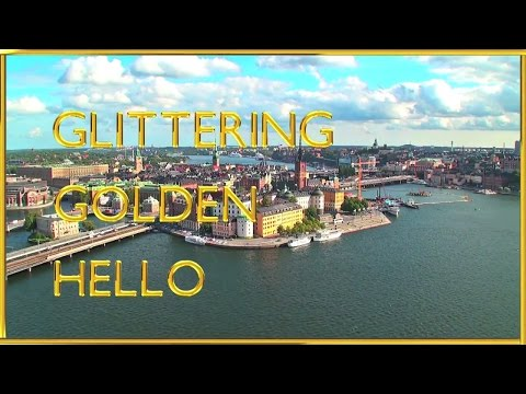Glittering Golden Hello from Stockholm      #EFHello50
