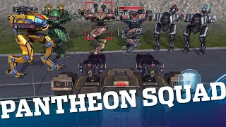 🔴 War Robots - Pantheon Squad With Clan VØX (iOS) + Gold Giveaway | WR Live Stream Gameplay