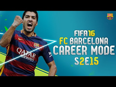 FIFA 16: Barcelona Career Mode - ATLETICO MADRID & REAL MADRID!!! - S2E15 - 동영상