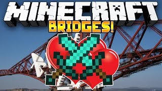 Minecraft Minigame: SACRIFICIAL BRIDGES! - w/Preston, Woofless & Nooch