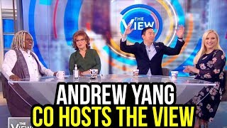 Andrew Yang Co-Hosts The View | Full Video