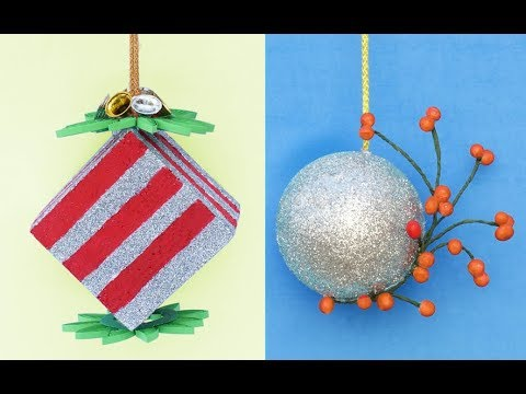 DIY ROOM DECOR! 2 DIY Projects For Winter & Christmas | Easy & Cheap Christmas Decorations!