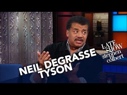 Neil deGrasse Tyson Isn't Afraid Of A Little Crystallized Water