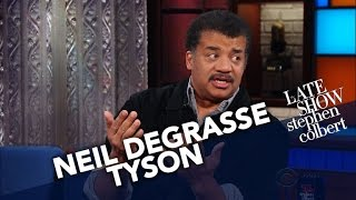 Neil deGrasse Tyson Isn't Afraid Of A Little Crystallized Water