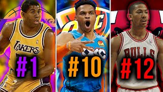 Ranking the GREATEST All Time Point Guards From EVERY NBA Team