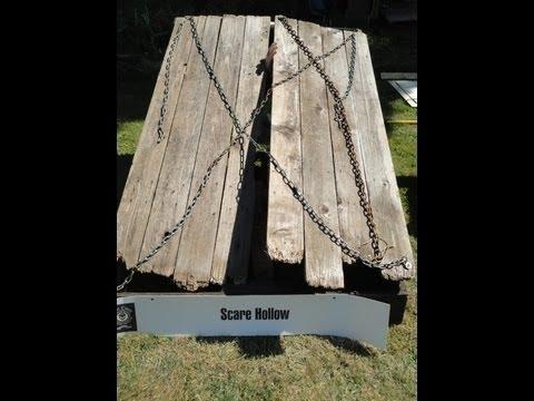Wooden Cellar Door How-to Prop - YouTube