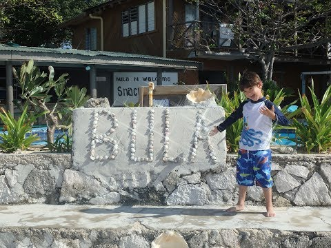 Family travel to Fiji!! 5 and 7 year olds visit Fiji Private Island