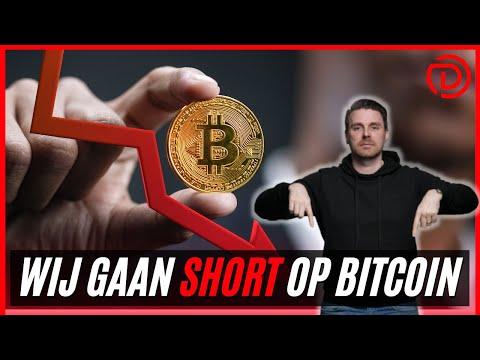 Wij gaan SHORT op Bitcoin?! | Geld Verdienen met een Daling