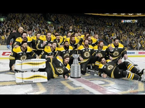 NHL 18 - Boston Bruins Stanley Cup Celebration