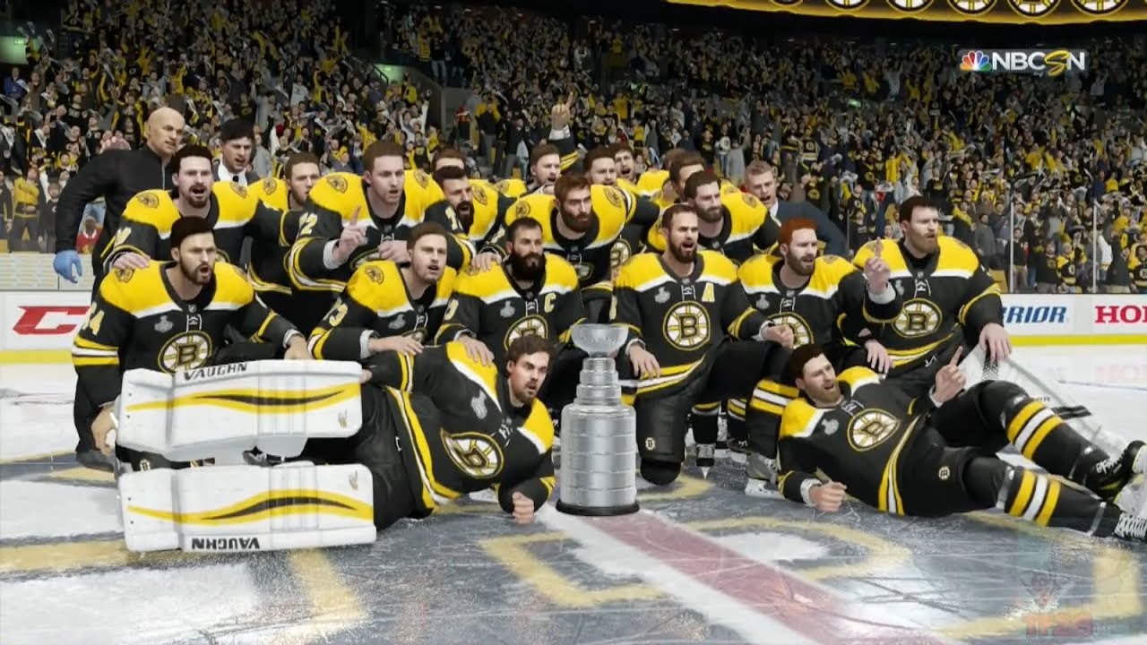 NHL 18 - Boston Bruins Stanley Cup Celebration - YouTube eeee1f80e