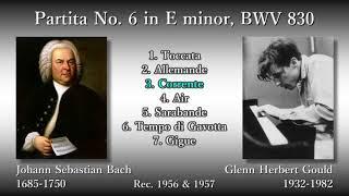 Bach: Partita No. 6, Gould (1956) バッハ パルティータ第6番 グールド thumbnail