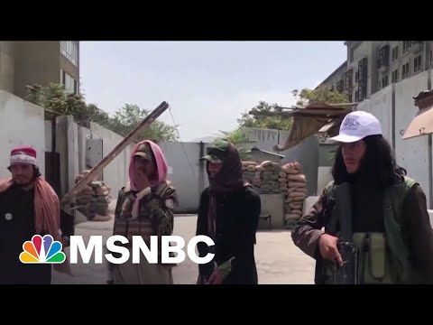 U.S. Officials Negotiate With Taliban While Evacuating Afghanistan