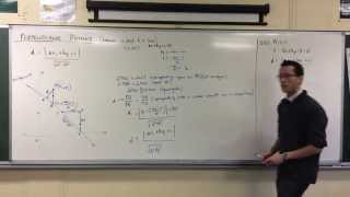 Applications of Perpendicular Distance (1 of 4: Basic Example)