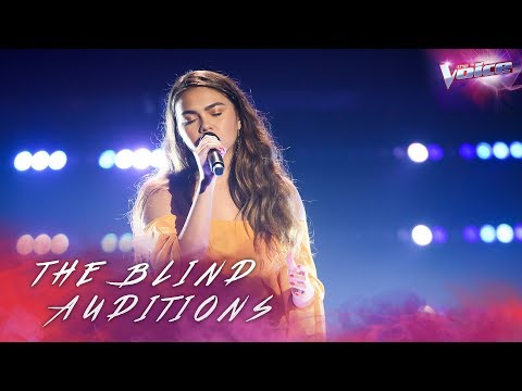 Amy Reeves sings Halo | The Voice Australia 2018
