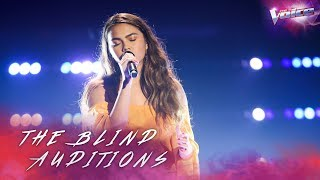 Blind Audition: Amy Reeves sings Halo   The Voice Australia 2018