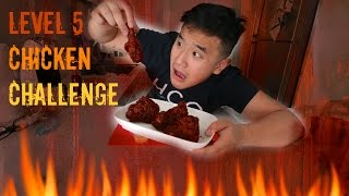 Richeese Factory Level 5 Fire Wing Challenge FAIL thumbnail